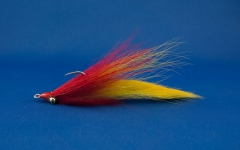 Rabbit Strip Clouser - Red + Yellow