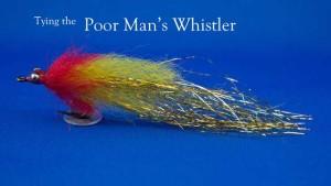 Tying-the-poor-man's-whistler